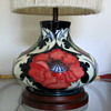 MOORCROFT LAMP..for racer4four