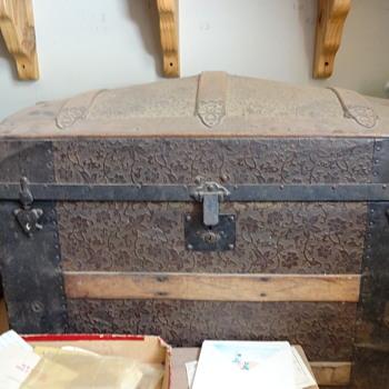Great Great Grandma's Steamer Trunk - Furniture