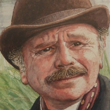 Painting of Dr. Watson By Patrick Varriano - Fine Art
