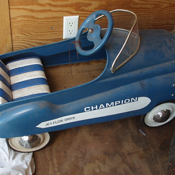Murray Dip Side Champion Pedal Car - twin to a Show & Tell Post! - Toys