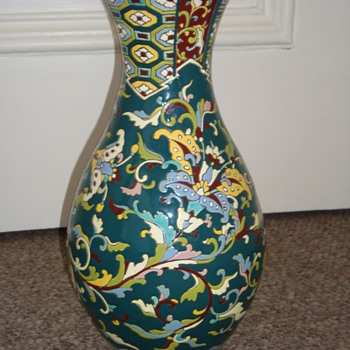 Stunning quality art nouveau/deco French? vase - Pottery