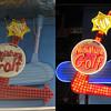 Vintage 1980's MINIATURE GOLF Antique Neon Bulb Lit Sign