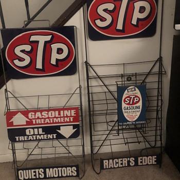 STP oil rack - Advertising