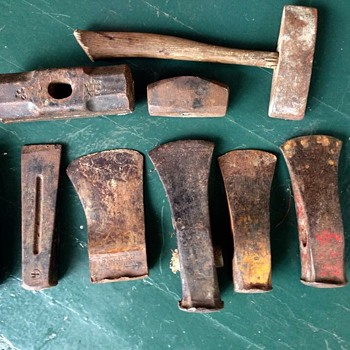 Antique axe collection  - Tools and Hardware