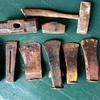 Antique axe collection