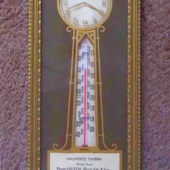Vintage Tavern Thermometer, Buffalo, NY - Advertising