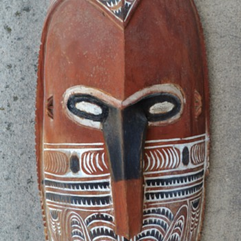 Papuan Mask - 1950's ?