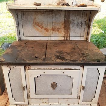 Sanico Wood Stove - Kitchen