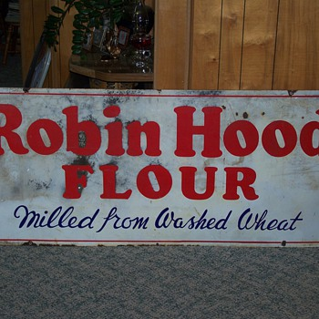 Robin Hood Flour Sign