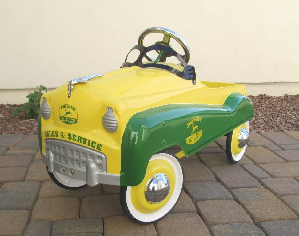 John Deere Car >> John Deere Pedal Car Collectors Weekly