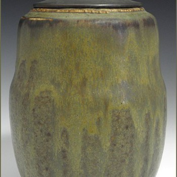 Four Stoneware Examples by Patrick Nordström (1870-1929)
