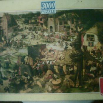 St. Georg Fair 3000 piece Jigsaw Puzzle - Games