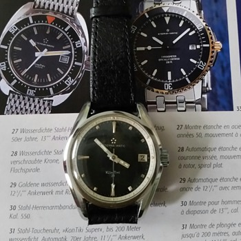 Vintage Eterna-matic Kontiki 20 with Excotic Dial?