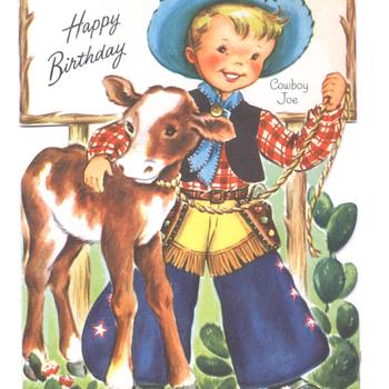 Cowboy Joe | Fairfield Birthday Story Card