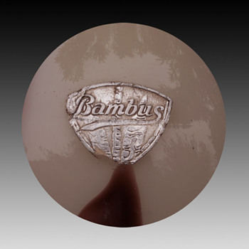 Kralik decor #2 - Bambus  - Art Glass