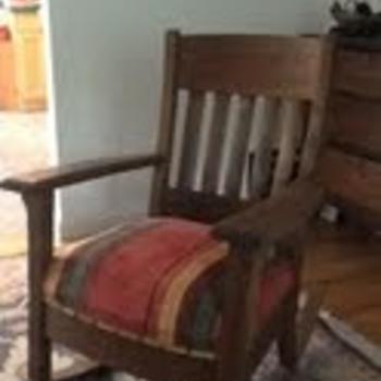 Mission Rocker - Furniture