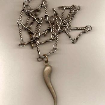 Men's Pendant Necklace