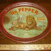 13 inch Dr Pepper Tray with Lion - One of my favorites