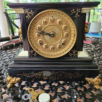 Any idea the age/model of this Ansonia Clock? - Clocks