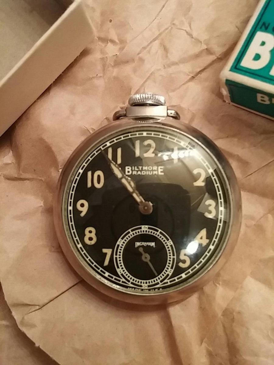 451cc2050 Biltmore Pocket Watch | Collectors Weekly