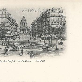 PARIS – LA RUE SOUFFLOT ET LE PANTHÉON  - Postcards