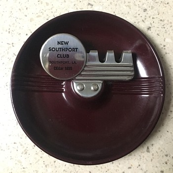 Southport Club Ashtray - Tobacciana