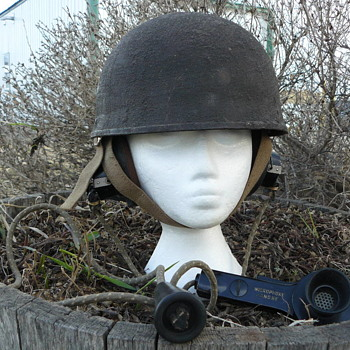 Mk I Helmet Steel Royal Armoured Corps - Military and Wartime