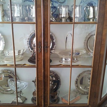 Our family silver collection. - Silver
