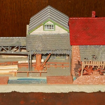 HO Scale Buildings - Model Trains