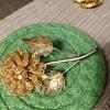 Gold Filagree? Floral Pin