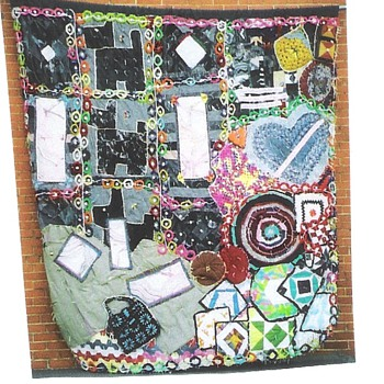 Jazz With A Needle and Thread Storyquilt