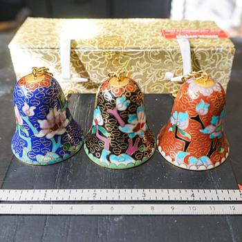 Cloisonne Bell Ornaments - Asian
