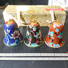 Cloisonne Bell Ornaments