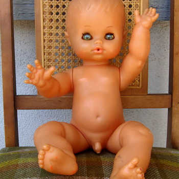 "Furga Boy Doll ""Anatomically Correct"" Italy - Dolls"