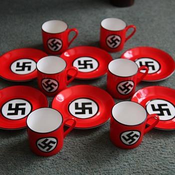 Nazi Coffee Cups - China and Dinnerware