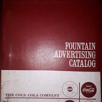 1960's Coca Cola Salesmans catalogue  - Coca-Cola