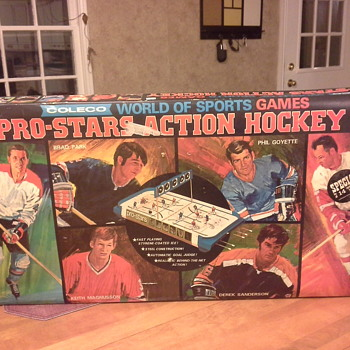 1970 All Stars Pro Action Hockey Game #5165/5169 - Hockey