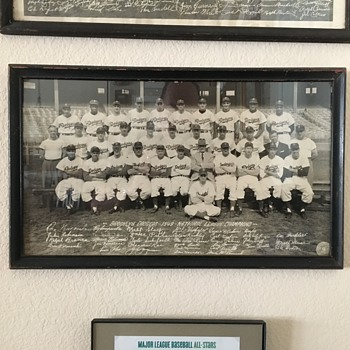 1949 Brooklyn Dodgers Team Photo - Baseball
