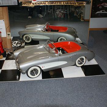 1957 Corvette Pedal Car - Toys
