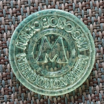 1990's Moscow subway token - US Coins