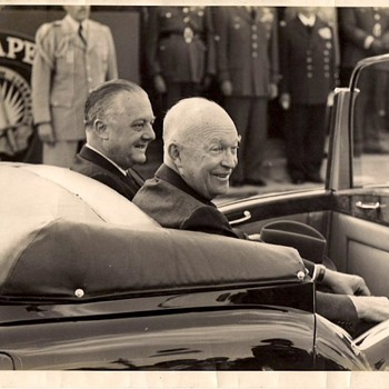 President Eisenhower in Paris 1959  - Photographs