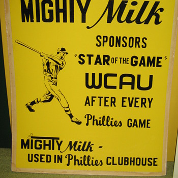 Abbotts Dairy , Abbott's Dairy , Mighty Milk , Philadelphia sports , Phillies