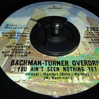 BACHMAN-TURNER OVERDRIVE - Records