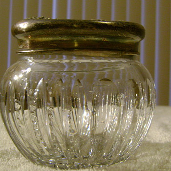 Glassware with Sterling Top - Glassware