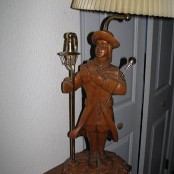 Wood Lamp - Lamps