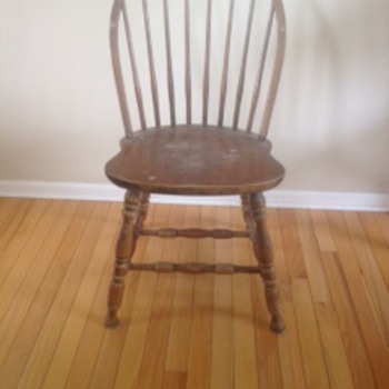 Old Farm House Chairs?? - Furniture
