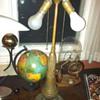 Antique Ornate Lamp Base
