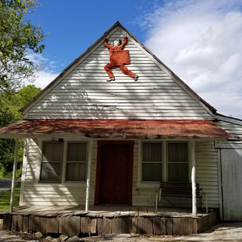 An old store in Sharps Chapel, Tennessee  - Signs