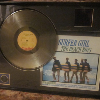 Beach Boys Surfer Girl Gold Lp - Records