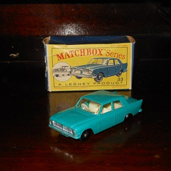 Matchbox Monday MB 33-B Ford Zephyr 6 MkIII - Model Cars
